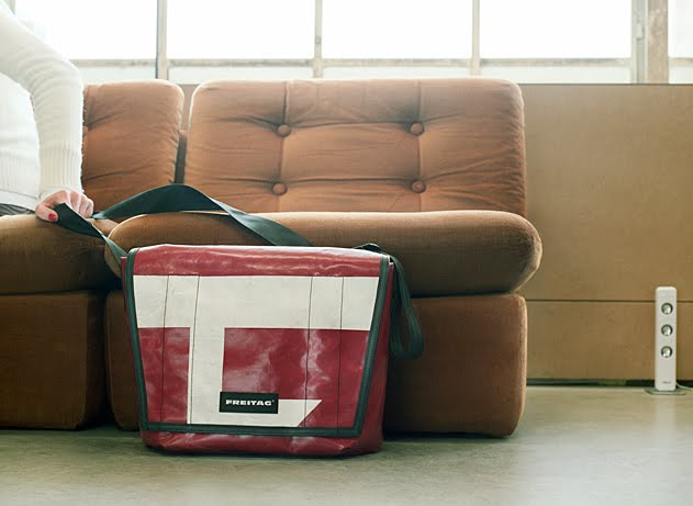 Freitag Bags: Made from Tarp!