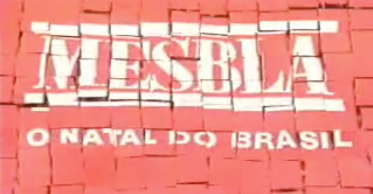 Campanha de Natal da Mesbla para o fim do ano de 1998