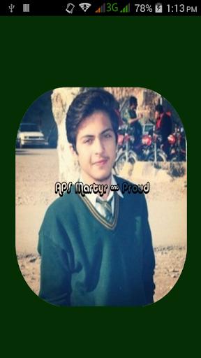 APS Peshawar Tribute 16 Dec