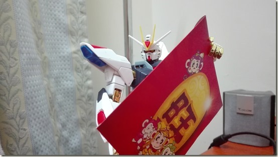 Strike Freedom with ang bao