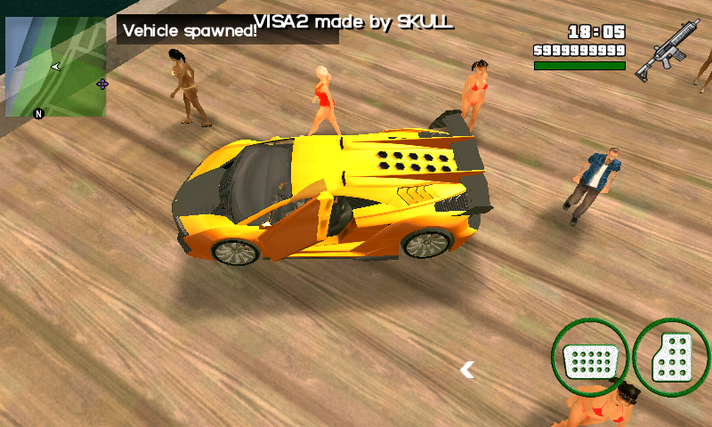 Share Tools Download Mod Xenon Gta San Andreas