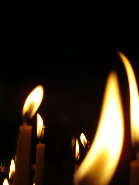Lights of candles
