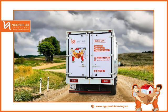 Thuê xe tải chở vật dụng event