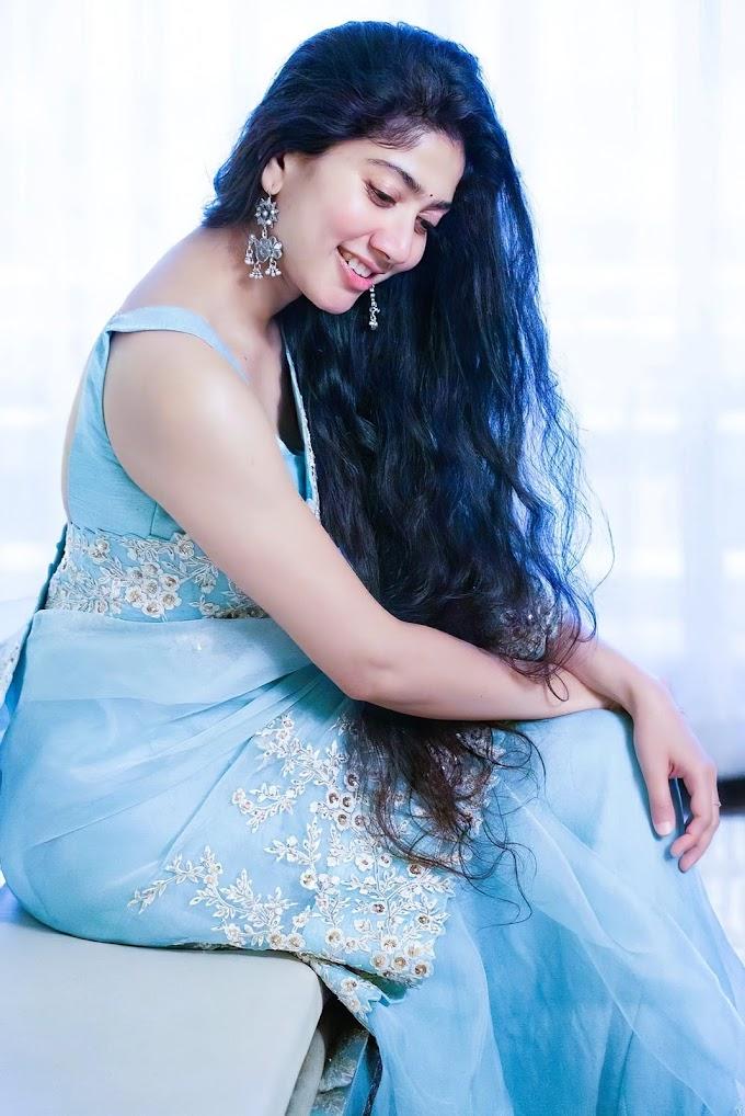 South Indian Actress Sai Pallavi Latest Saree Stills