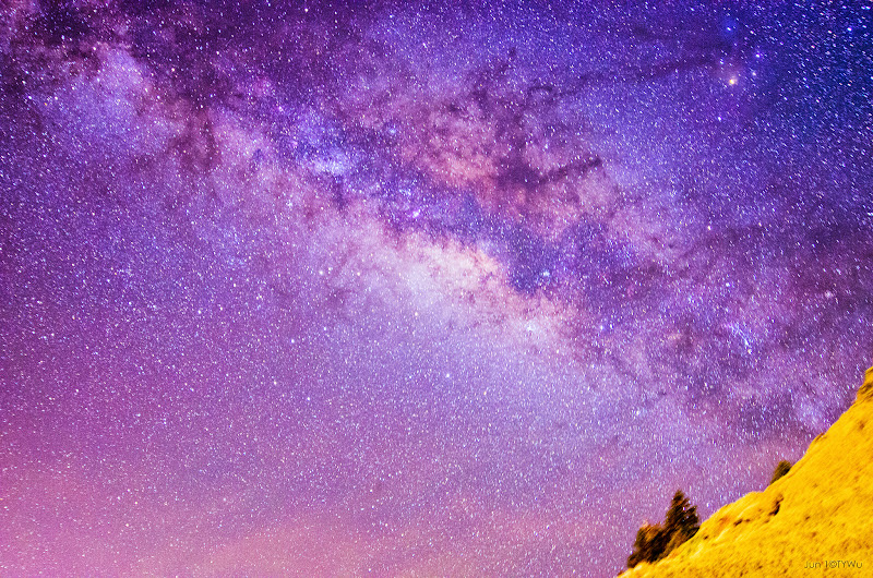 合歡山銀河之旅