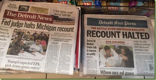 detroit recount