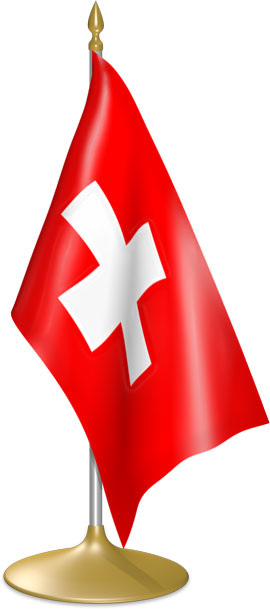 Swiss table flags - desk flags