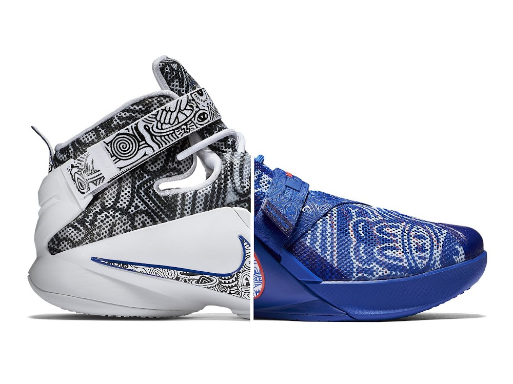 911398f3eea0 Official Look at FREEGUMS LeBron Soldier 9 Both Pairs ...