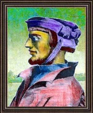 Henry Cornelius Agrippa Portrait, Henry Cornelius Agrippa