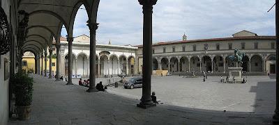 piazza SS Annunziata Firenze
