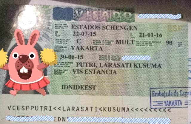 A Story About Me Pengalaman Mengurus Visa Spanyol