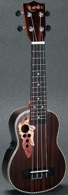 Rubin Electric Acoustic Soprano at Lardy's Ukulele Database