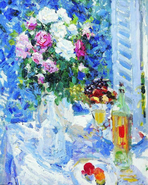 Konstantin Korovin - Flowers and Fruit