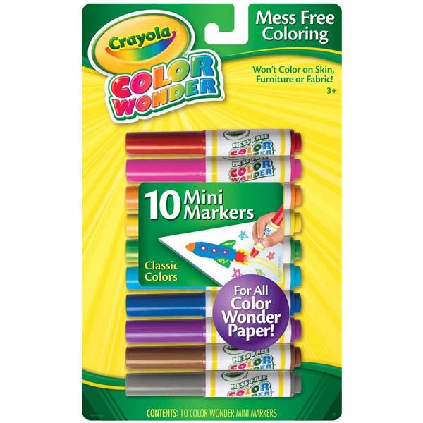 Bộ bút lông Color Wonder Crayola 10 màu