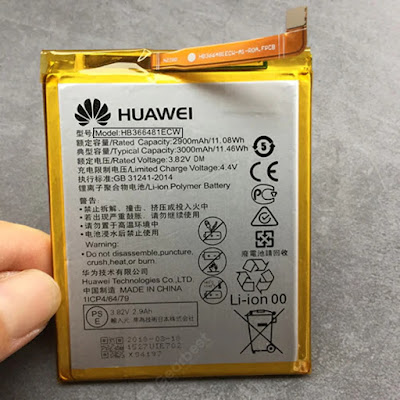 how do i find huawei battery model number