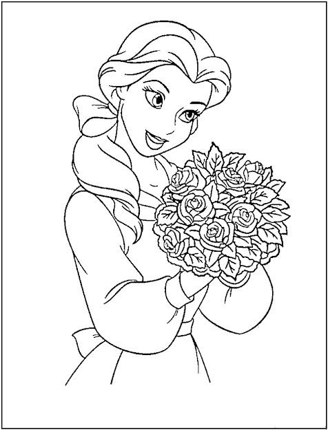 Princess Coloring Pages Printable  Disney Princess Coloring Pages  Free  Printable