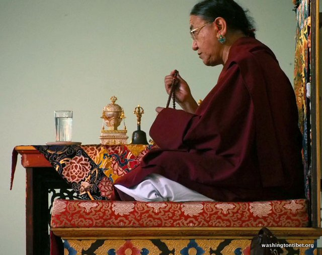 Tibetan Audience with HH Dalai Lama/HH Sakya Trizins Teaching in Portland, OR. - 08-cc%2BP5120244%2BB72.JPG