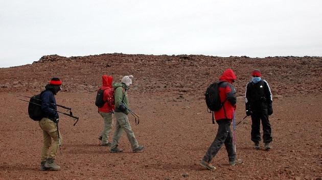 Argentinien-Vulkan-Tuzgle
