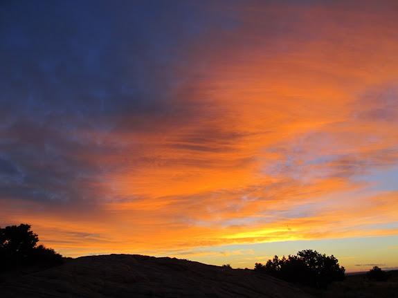 Sunrise on Wednesday