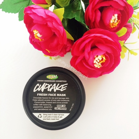Lush Cosmetics Cupcake Facemask