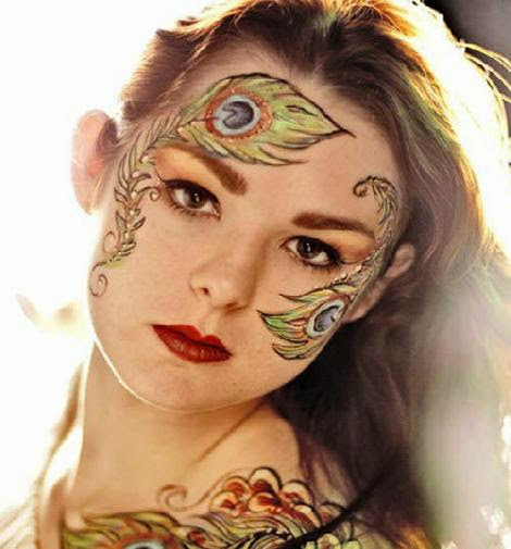 30 Creative Face Painting Art Collection  Naldz Graphics