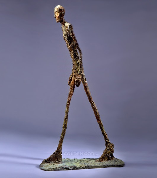 "GIACOMETTI ""WALKING MAN"""