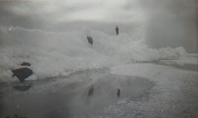 Лёд, наползший на 1-ый мол17.04.1934 г.(из фондов Эст. гос. архива)