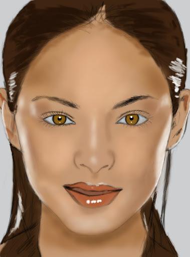 Digital Paint งานทดลองใช้ USB Graphic Tablet (เม้าส์ปากกา) ShadowHighlight