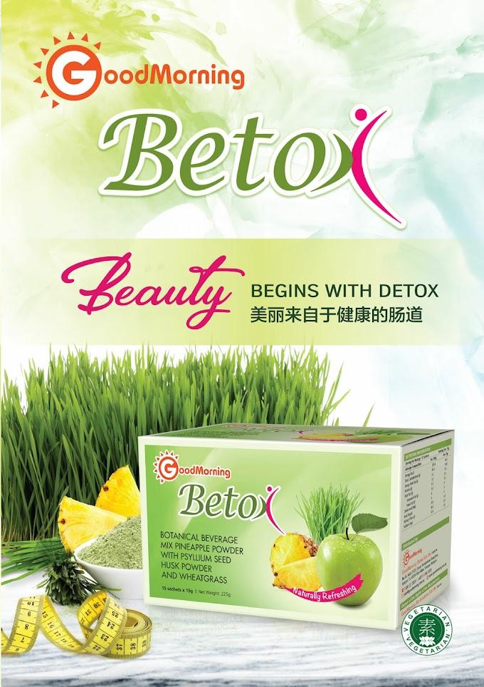 Betox Daripada Good Morning Membantu Melawaskan Pencernaan Anda