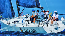 J/111 sailing team- LUCKY DUBIE- sailed by Len Siegal