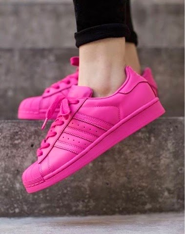 Adidas Superstar Fucsia
