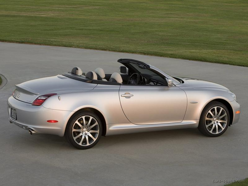 2006 lexus sc 430 convertible specifications pictures prices. Black Bedroom Furniture Sets. Home Design Ideas