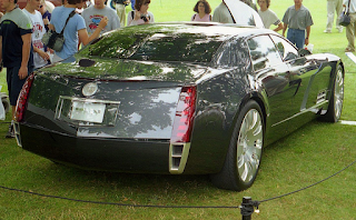 The 2003 Cadillac Sixteen concept