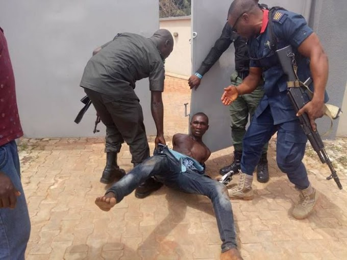Robber Nabbed While Trying To Steal Car Near Diamond Bank In Awka (Photos)