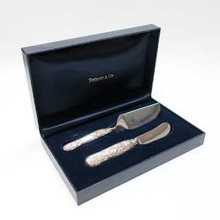 Tiffany & Co. Sterling Handle Cheese Knives