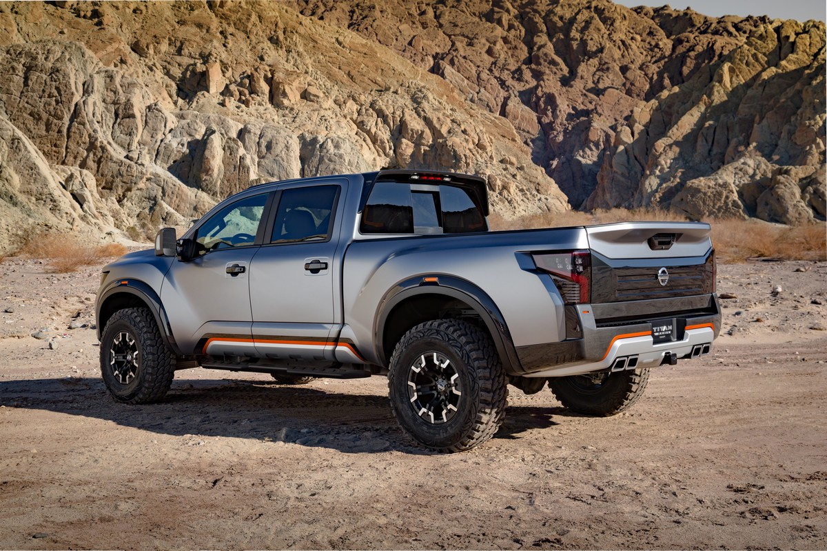 nissan titan warrior concept. Black Bedroom Furniture Sets. Home Design Ideas