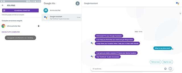 accoppiamento-google-allo-web