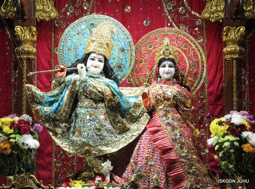 ISKCON Juhu Mangal Deity Darshan 11 Jan 2016  (1)