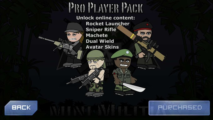 Mini Militia Mod APK Game | Unlimited Ammo, Pro Pack, Battle Points, Health