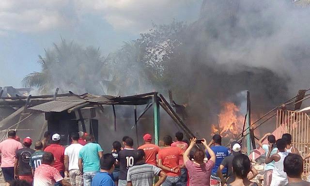 Incêndio Destrói Danceteria Recanto do Povão em Anapurus