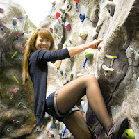 Lil Sis Rock Climbing Night