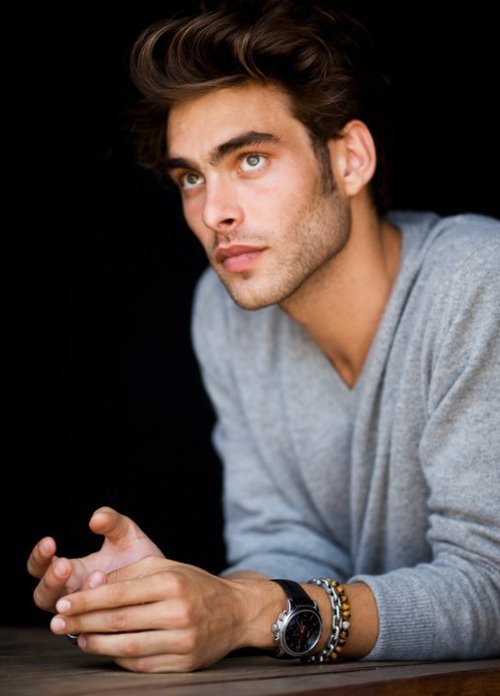 Jon Kortajarena by Peter Lindberg, outtake from David Yurman S/S 2011 campaign