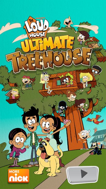 Loud House: Ultimate Treehouse Android App Screenshot