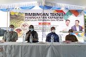 BPPSDMP Gandeng DPR RI Gelar Bimbingan Teknis Peningkatan Kapasitas Penyuluh Pertanian dan Petani di Maluku