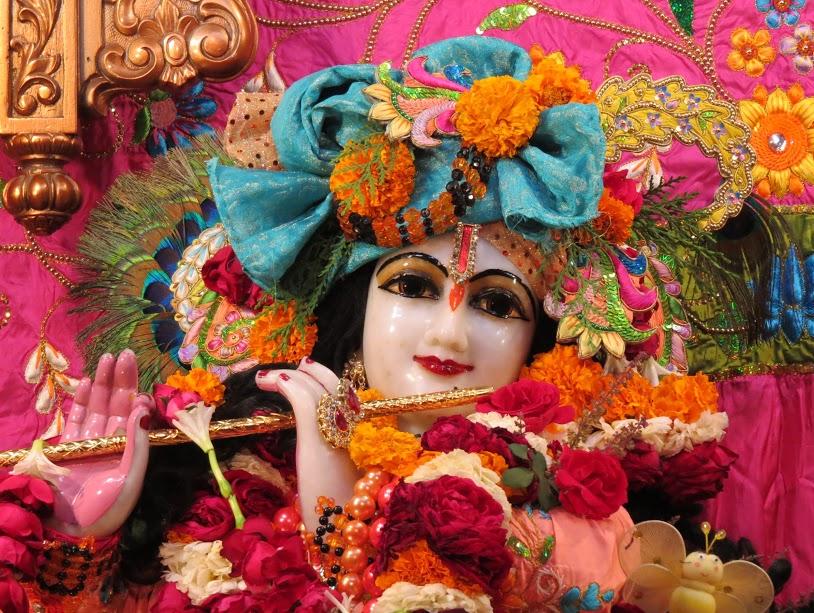 ISKCON Vallabh vidhyanagar Deity Darshan 16 jan 2017 (2)