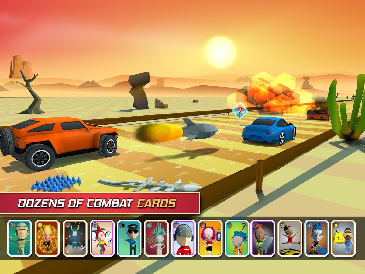 Racing Combat- screenshot