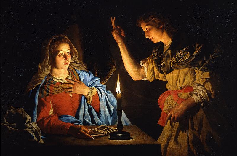 Matthias Stom - Annunciation