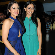 Rakul at Cheekati Rajyam Premiere Show