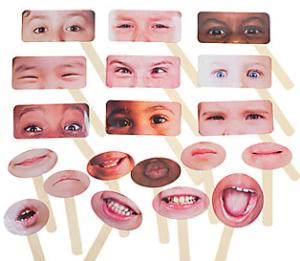 Emotions Half Masks