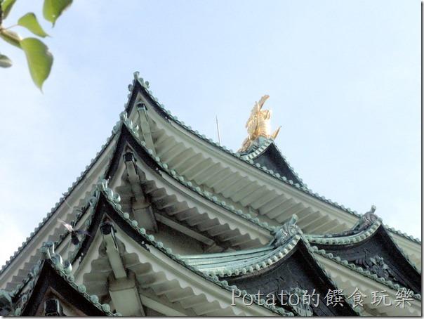 名古屋城上的金箎